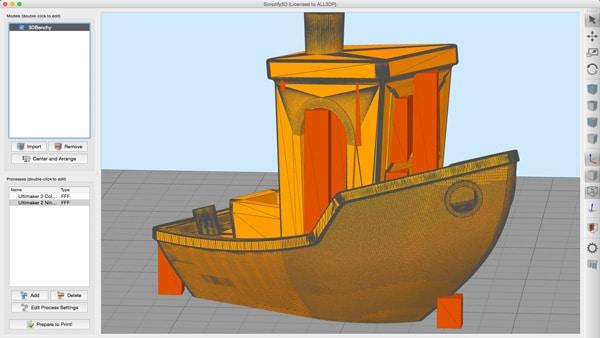 5 نرمافزار رایگان اسلایسینگ پرینتر سه بعدی