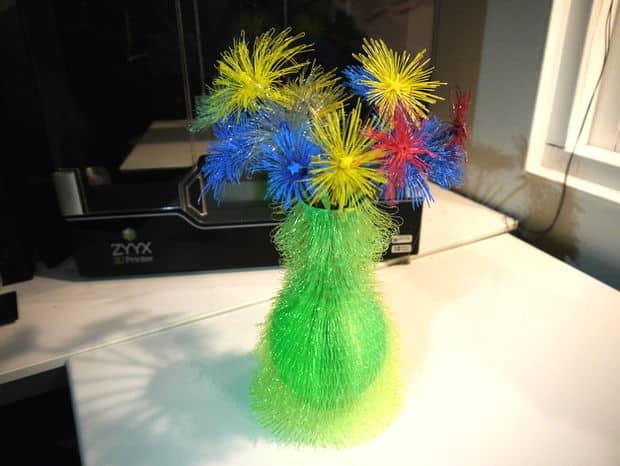 چگونه یک گلدان کرک دار را پرینت سه بعدی کنیم