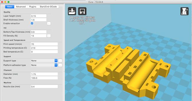 مفاهیم تنظیمات نرم افزار اسلایسر پرینتر سه بعدی