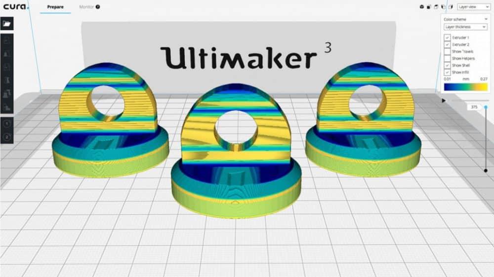 ویژگیهای جدید نرم افزار Ultimaker Cura 3.2