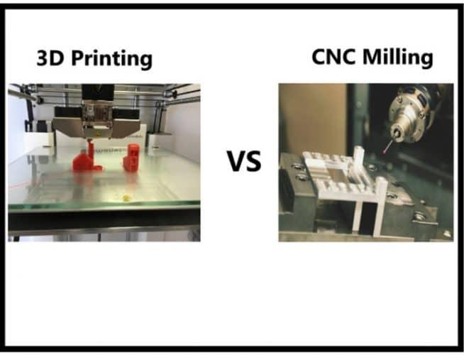 دستگاه برش CNC یا پرینتر سه بعدی: راهنمایی، توصیف و مقایسه