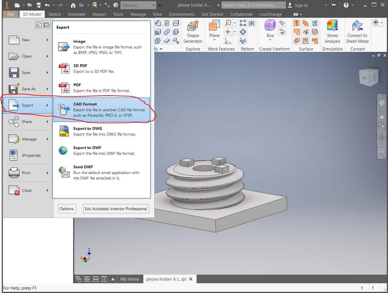 آموزش روشهای تبدیل یا ساخت فرمت STL پرینت سه بعدی