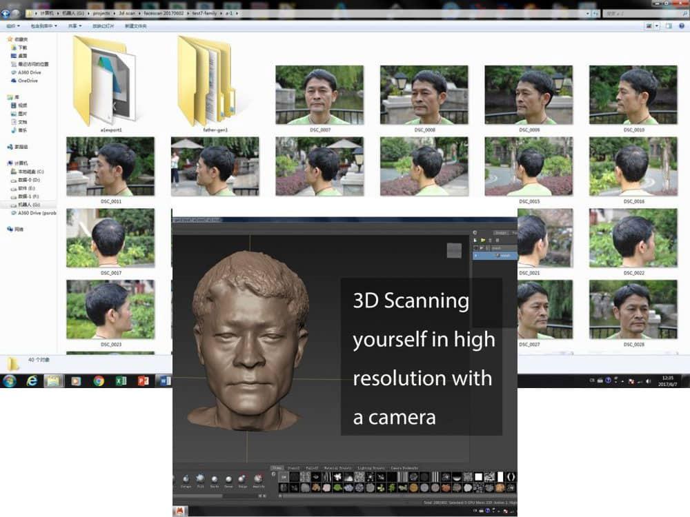 آموزش تبدیل عکس پانوراما موبایل به مدل سه بعدی قابل پرینت